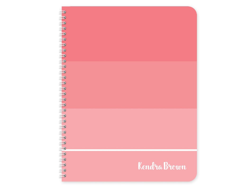 For the Love of Pink- Notebook