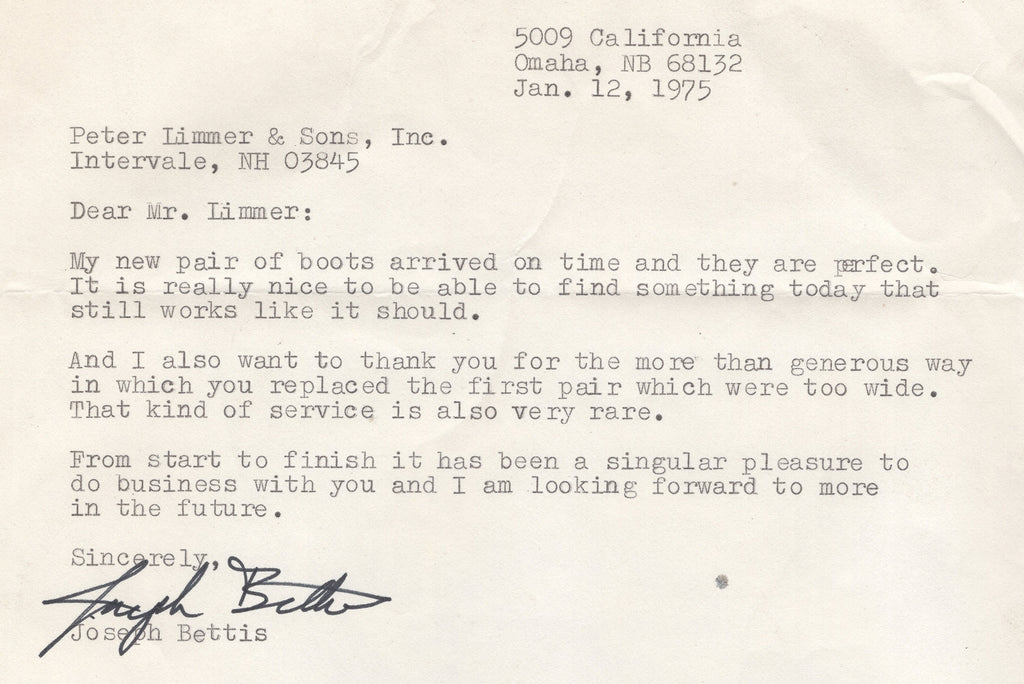01121975 Stuff That Works Limmer Hiking Boots Limmer Custom Hiking Boots Stuff that holds up Exemplary customer service