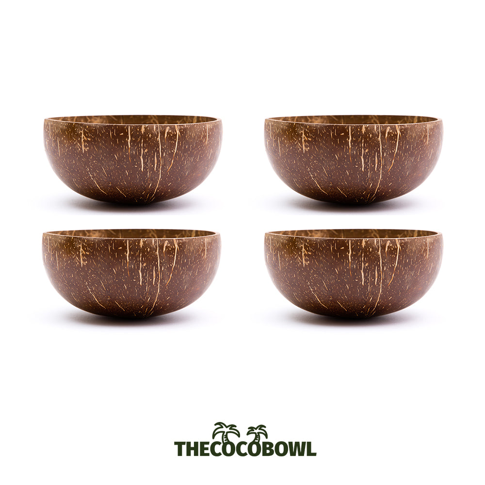 Package - 4 Coconuts Bowls