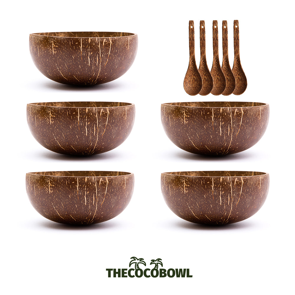 Package - 5 Coconut Bowls