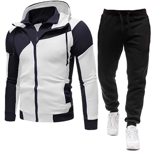 New Brand Men Clothing Sets Tracksuit 2 Piece Sets Hoodies+Pants Men's Sweater Set Sports Suit Streetswear Jackets Free Shipping
