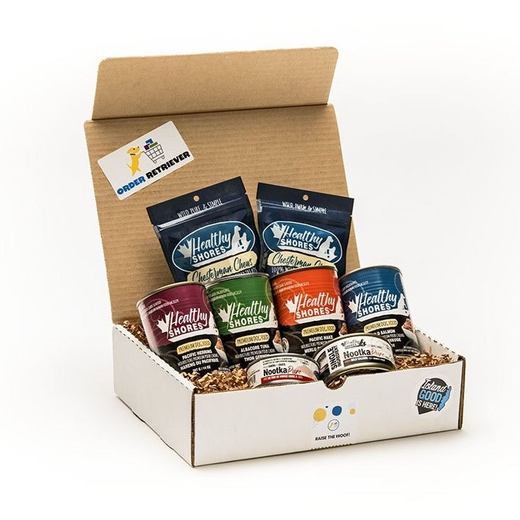 Healthy Shores Pet Food Box