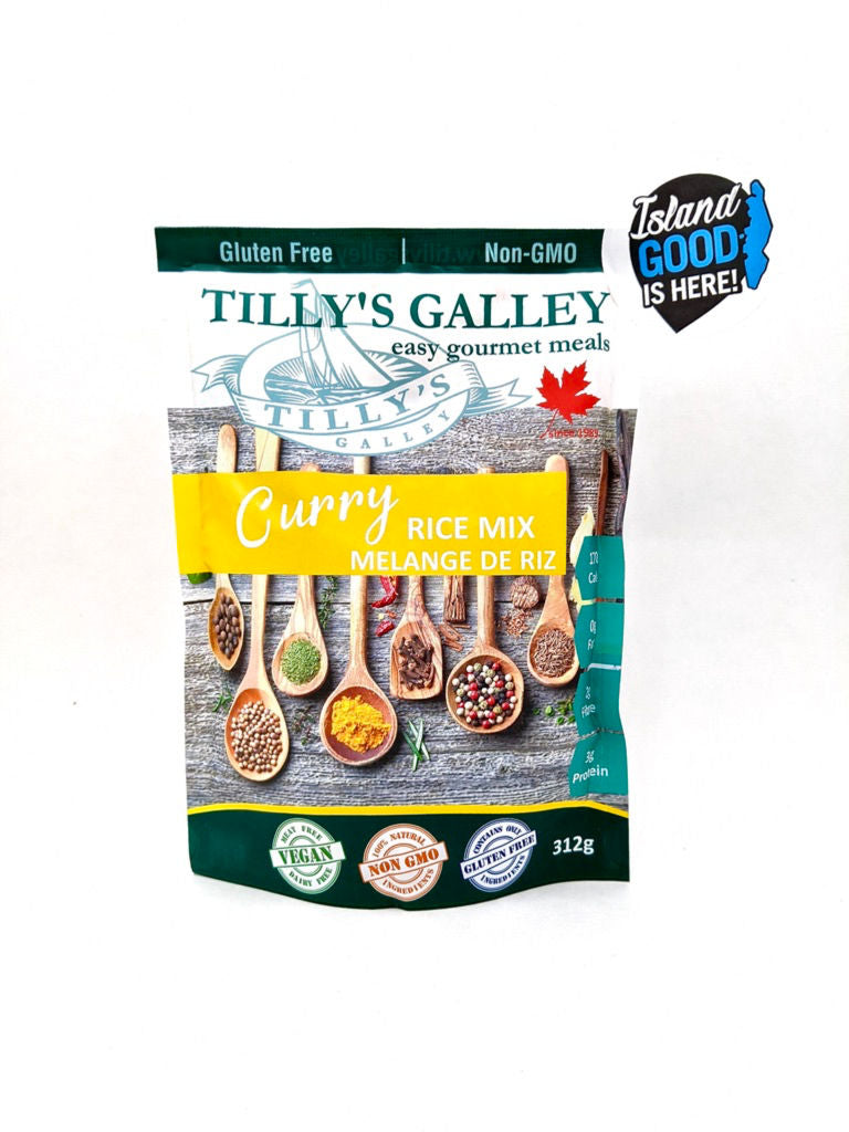 Tilly's Galley curry rice mix