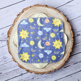 Sun and Moon - Set of 6