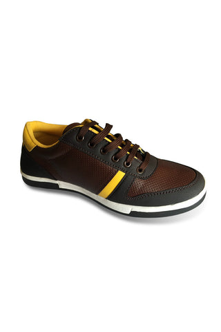 Fashion Sneakers - Brown