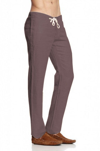 Draw String Casual Trouser - Grey