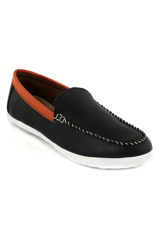 Black/Brown Loafers