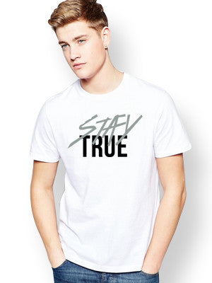 Stay True Tshirt - Slim Fit
