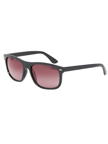Black with red Wayfarers