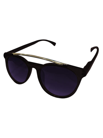 Metal Wayfarer Jet Black