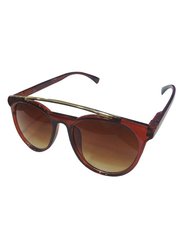 Metal Wayfarer Brown