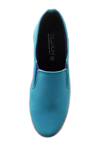 Sky Blue Canvas Slip on shoes