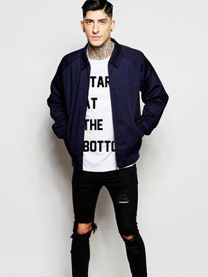 Started at the bottom Tshirt - Slim Fit