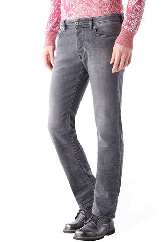 Whisker Wash GREY Denim
