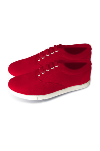 Red LT Lace Canvas Shoes