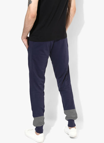 Color Block Jogger Navy/Grey