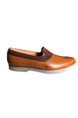 Brown/Tan Slip On