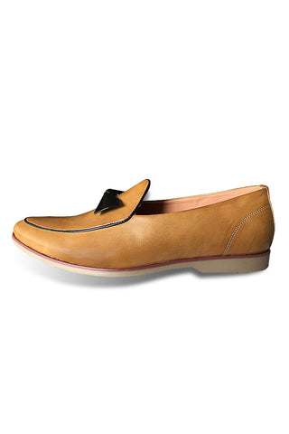 Tan Bow Shoe