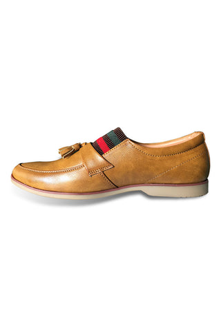Tan Band Slip On