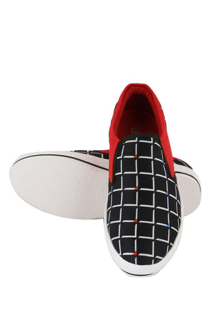 Black Box Printed Canvas Shoes