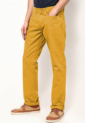 Colored Denim  - Mustard