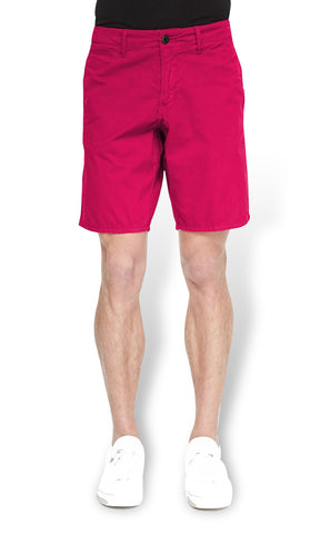 Cotton Magenta Bermudas