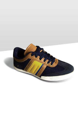 Fashion Sneakers - Black / Brown Band