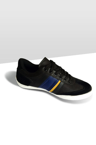 Fashion Sneakers - Black / Navy