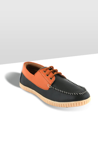 Black/Brown Boat Shoe