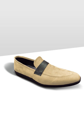 Tan Band Loafers