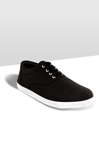 Black LT Lace Canvas  Shoes