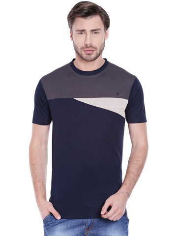 ACTIVE DRY ARROW PATTERNED TSHIRT - BLACK