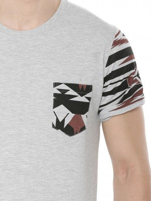 Camo Patch Pocket Tshirt