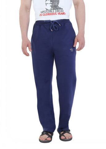 Blue Fleece Track Pants