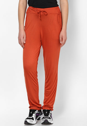 Orange Lounge Pants - Women