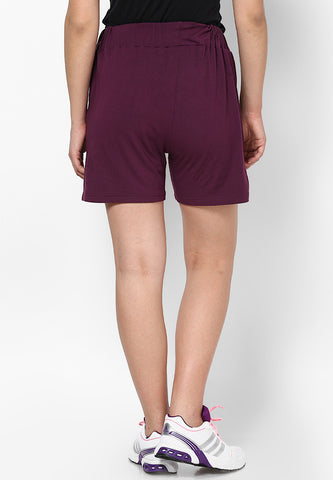 Wine Lounge Shorts - Women