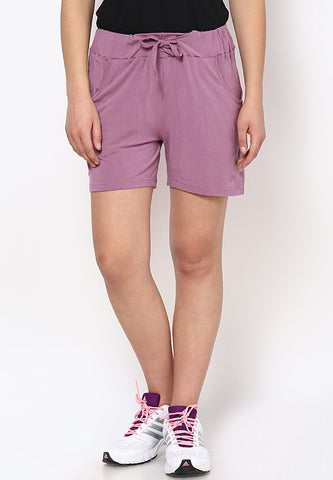 Lavender Lounge Shorts - Women