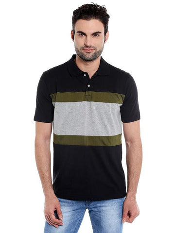 MULTI PATCH POLO TSHIRT