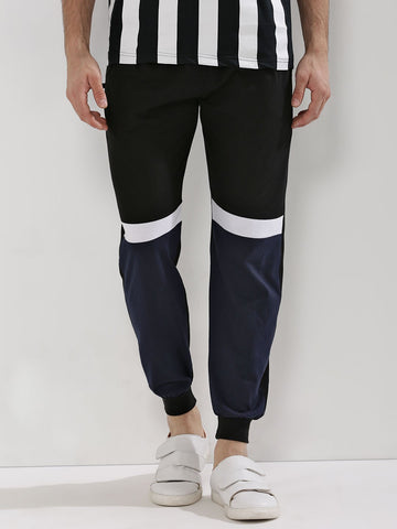Contrast Panel Tracks - Black/wht/navy