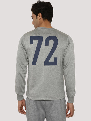 72 BACK PRINTED SWEATSHIRT