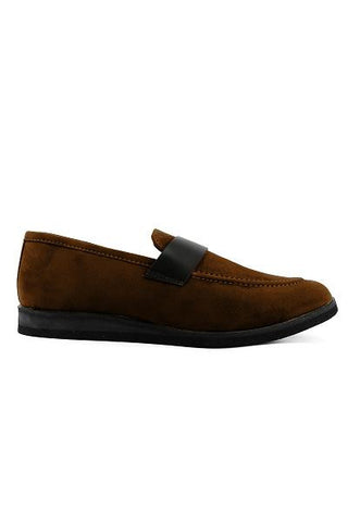 Brown Band Loafers