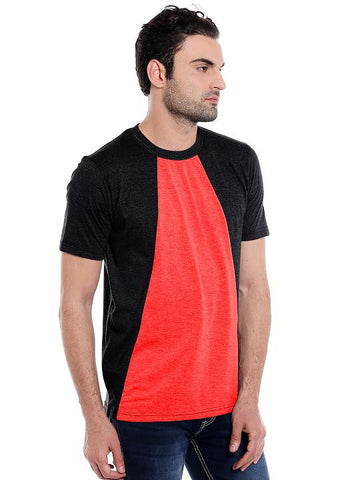 RED DIAGONAL RN TSHIRT