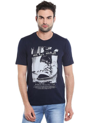 ROCK ROLL RN PRINT TSHIRT