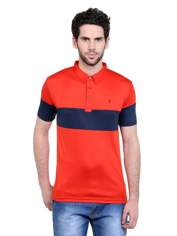 ACTIVE DRY POLO WITH CHEST SLEEVE PANEL