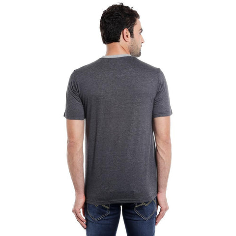 GREY DIAGONAL RN TSHIRT