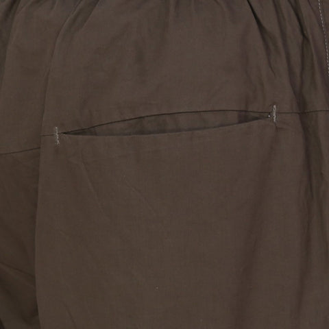 Draw String Casual Trouser - Olive