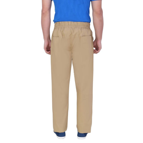 Draw String Casual Trouser - Beige