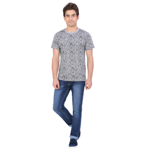 PAISLEY ALLOVER PRINTED T-SHIRT