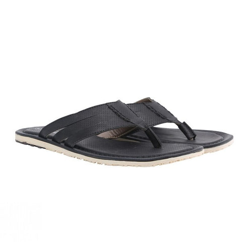 Black Leather - Flip Flops 2