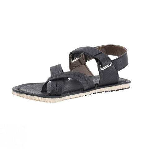 Black Leather - Sandals